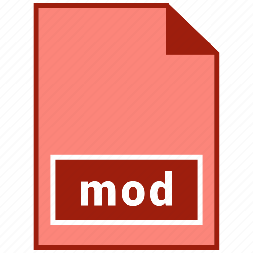 file format, mod, video icon