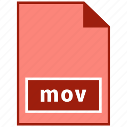 file format, mov, video icon