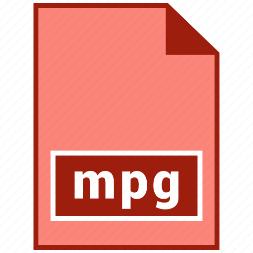 file format, mpg, video icon
