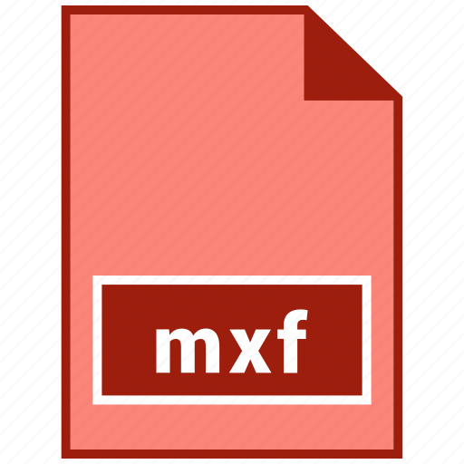 file format, mxf, video icon