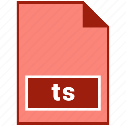 file format, ts, video icon