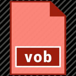 file format, video, vob icon