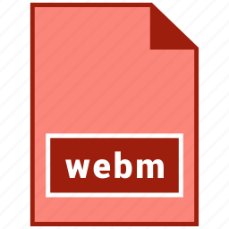 file format, video, webm icon