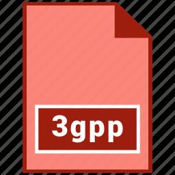 3gpp, file format, video icon