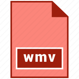 file format, video, wmv icon