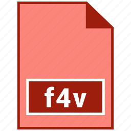 f4v, file format, video icon