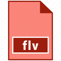 file format, flv, video icon