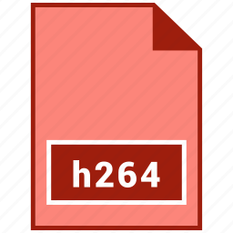 file format, h264, video icon