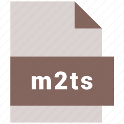 extension, file, format, hovytech, m2ts, type, video file format icon