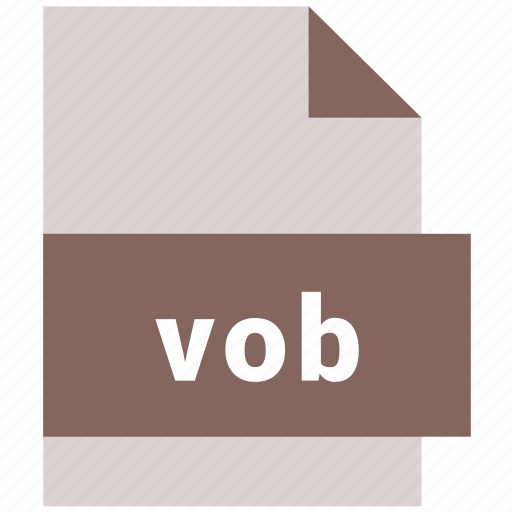 video file format, vob icon