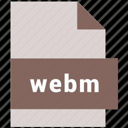file, media, video, video file format, webm icon