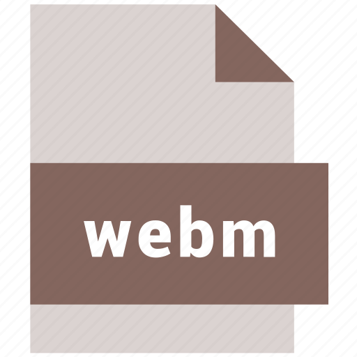 file, media, video, video file format, webm icon