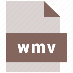 mime type, video file format, wmv icon