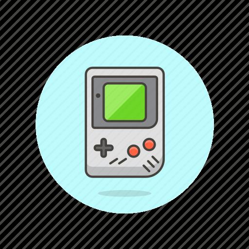 color, console, fun, game, gameboy, nintendo, play, video icon
