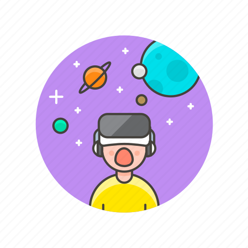 fun, game, play, project, reality, space, video, virtual icon