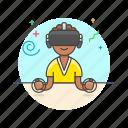 game, reality, video, virtual, fun, play, woman