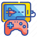 electronics, gaming, smartphone, tablet, technology icon