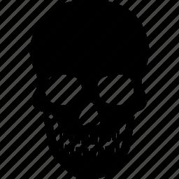 dead, death, game, head, human, over, skull icon