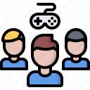 cybersport, game, gamepad, gamer, gaming, team icon
