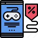 box, cybersport, disc, discount, game, gamer, gaming icon