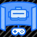 cybersport, game, gamepad, gamer, gaming, glasses, vr icon