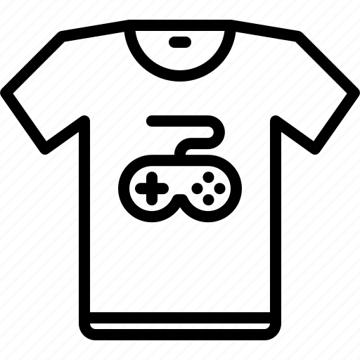 cybersport, game, gamer, gaming, merch, shirt, t icon