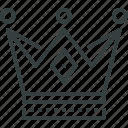 achievement, award, crown, king, kings, royal, trophy, winner icon