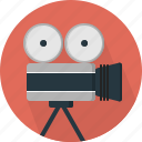 camera, film, video icon