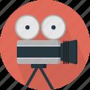 camera, video, film