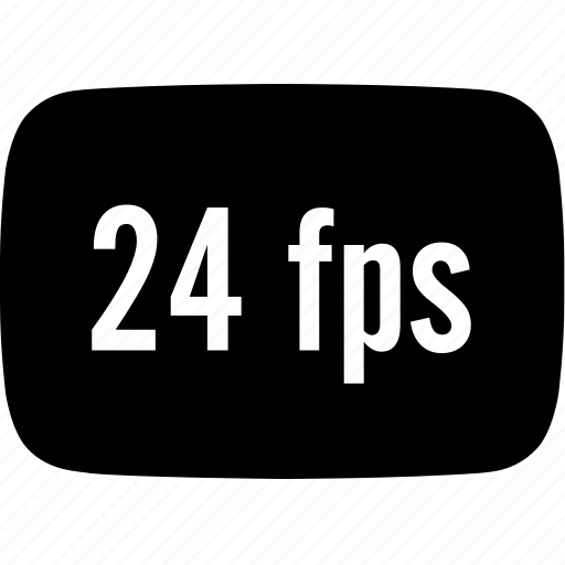 fps, frames per second icon