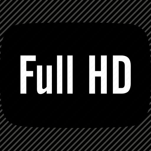 full, hd icon