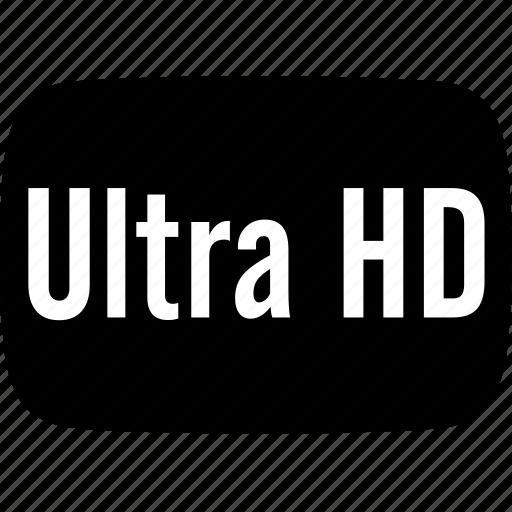 hd, ultra icon