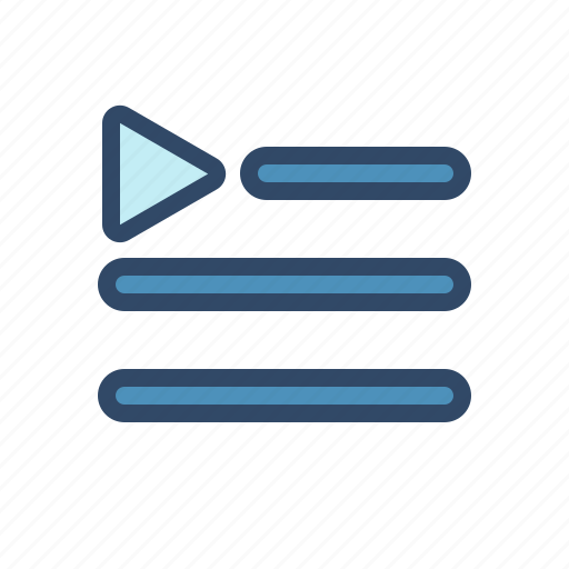 film, movie, multimedia, player, playlist icon