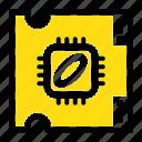 chip, cpu, microchip, processor