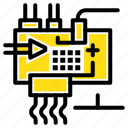 assemble, customize, electronics, engineering, parts icon