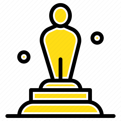 academy, award, oscar, statue, trophy icon