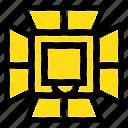 illumination, light, lighting, professional, softbox icon