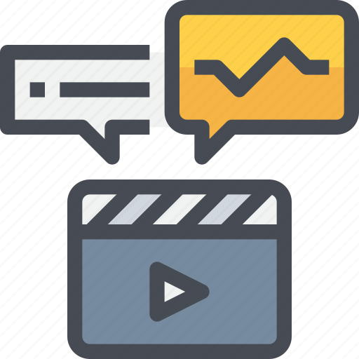 film, movie, production, video icon