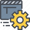 editer, film, management, movie, process, video icon
