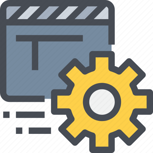 editer, film, management, movie, process, video icon