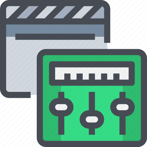 audio, editer, production, sound, soundcontrol icon
