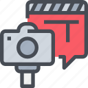 cam, camera, media, movie, photography, video icon