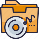 audio, cd, music, sound icon