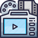 camera, film, photography, production, record, video icon