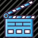 action, clapper, film, movie