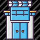 film, movie, studio, video icon