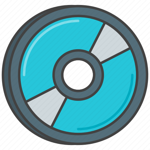 blu, cd, disc, dvd, ray icon