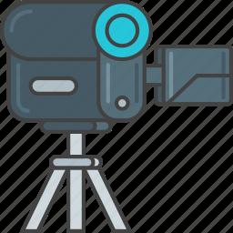 camcorder, camera, device, recorder, video icon