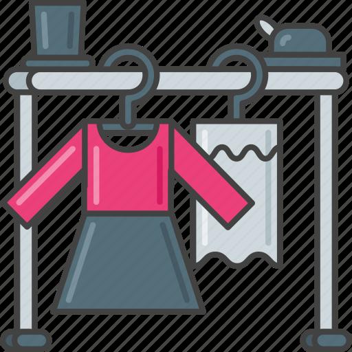 cast, clothes, clothing, costume, garment, shirt, suit icon