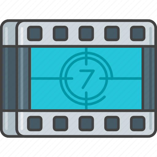 countdown, film, movie, opening, premiere, timer icon